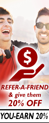 Refer-A-Friend & Earn 20%