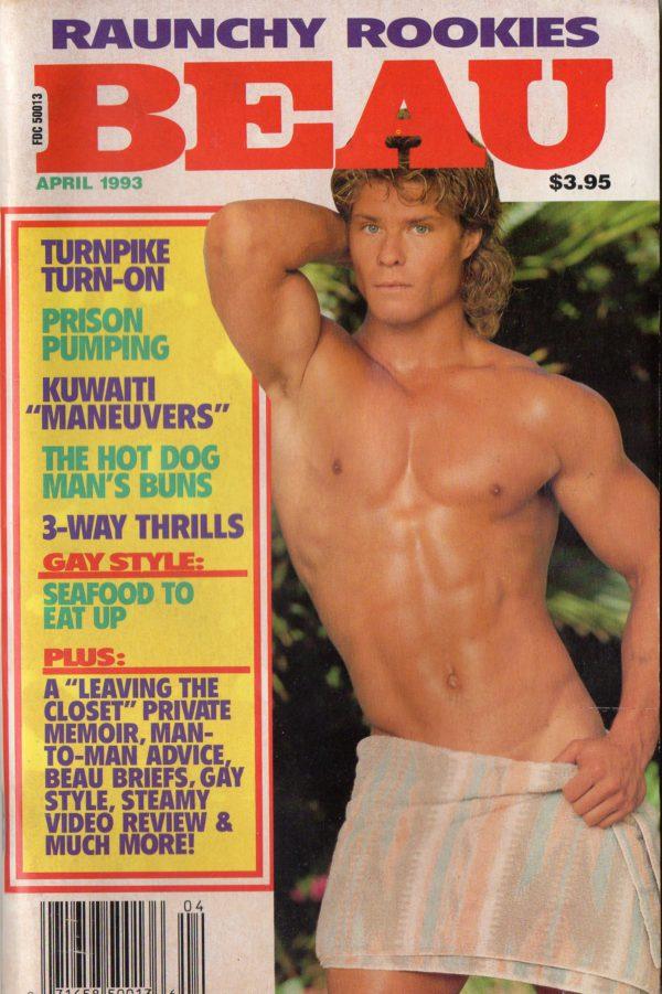 BEAU (Release April 1993) Gay Erotic Stories Paperback