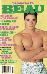 BEAU (Release March 1992) Gay Erotic Stories Paperback