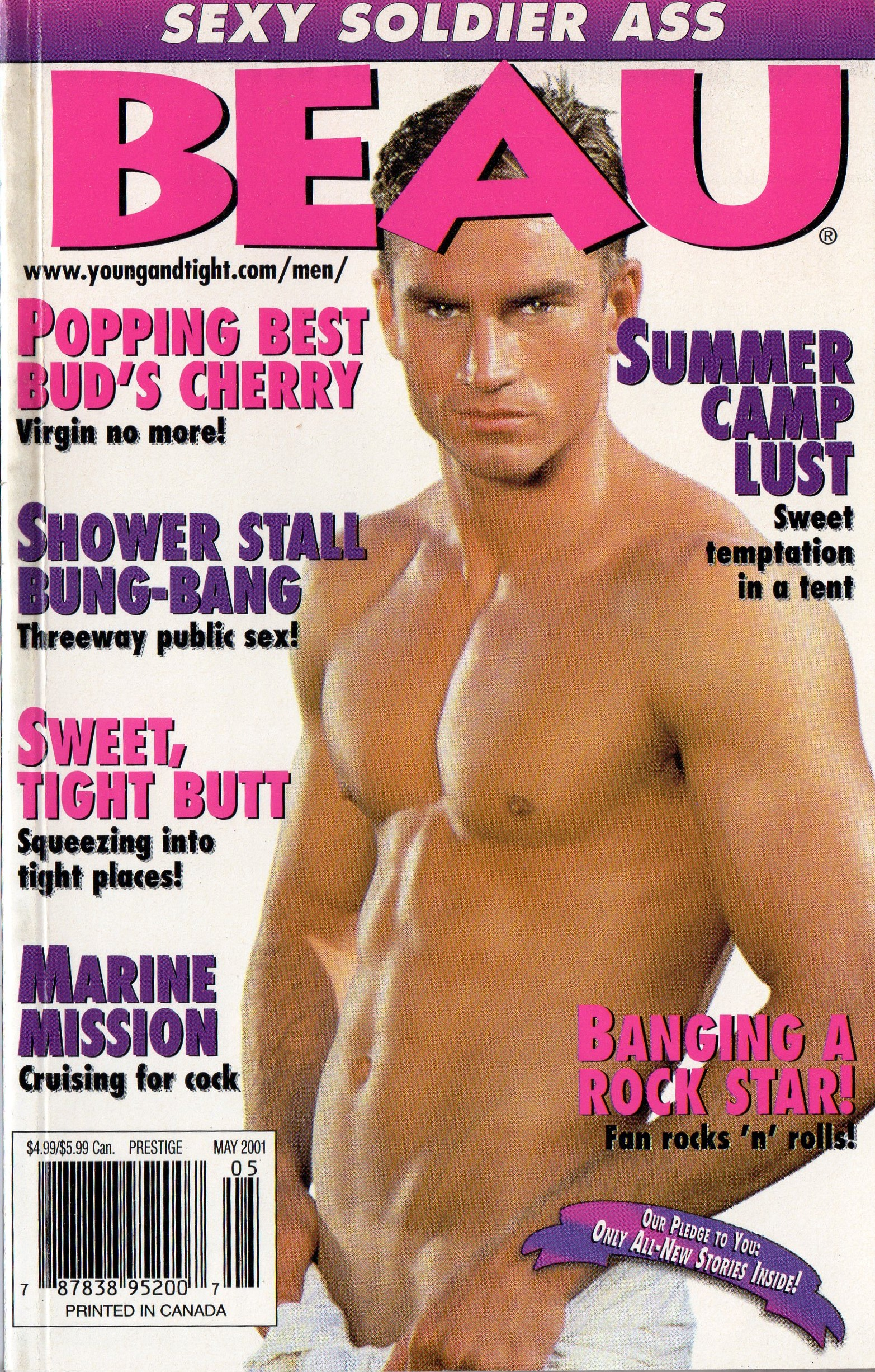 BEAU (Release May 2001) Gay Erotic Stories Paperback