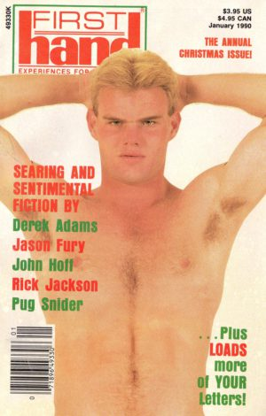 First Hand Experiences for Men (Volume 10 #1 1990 - Released January 1990) Gay Male Digest Magazine