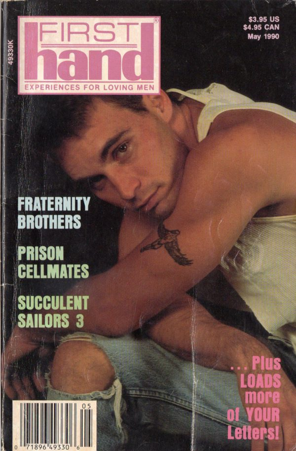 First Hand Experiences for Men (Volume 10 #5 1990 - Released May 1990) Gay Male Digest Magazine