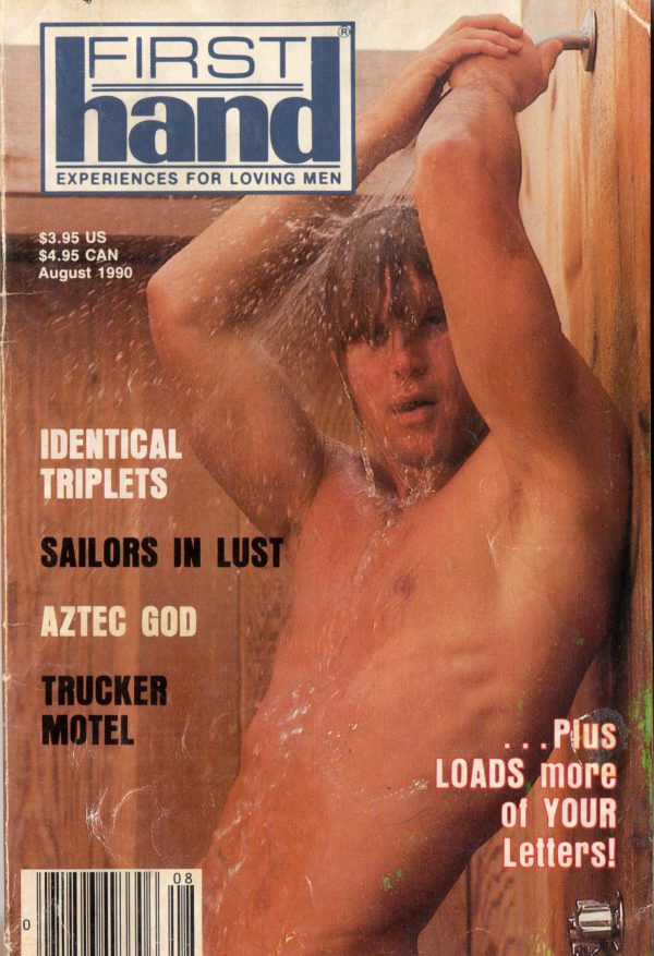 First Hand Experiences for Men (Volume 10 #8 1990 - Released August 1990) Gay Male Digest Magazine