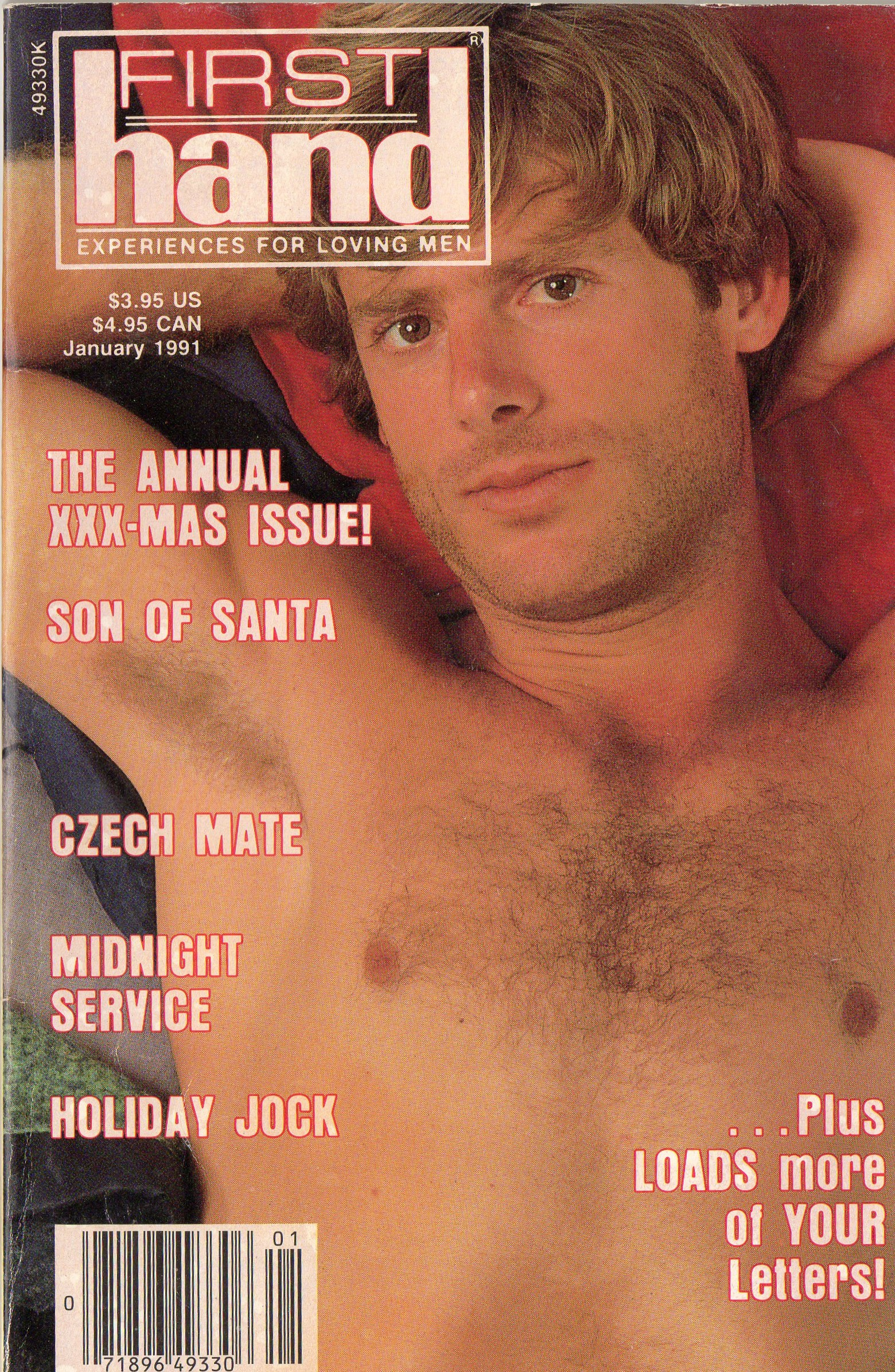 First Hand Experiences for Men (Volume 11 #1 1991 - Released January 1991) Gay Male Digest Magazine
