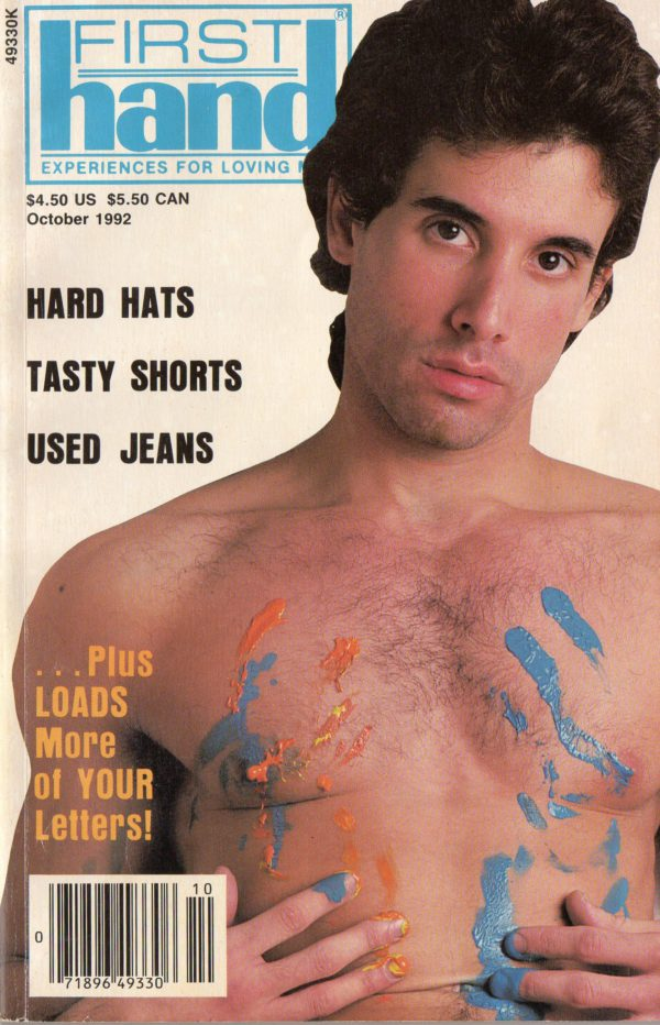 First Hand Experiences for Men (Volume 12 #10 1992 - Released October 1992) Gay Male Digest Magazine