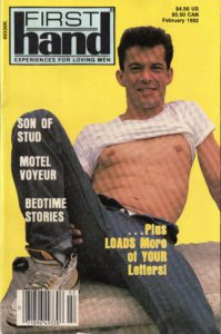 First Hand Experiences for Men (Volume 12 #2 1992 - Released February 1992) Gay Male Digest Magazine