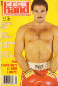 First Hand Experiences for Men (Volume 12 #6 1992 - Released June 1992) Gay Male Digest Magazine