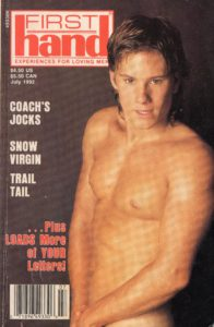 First Hand Experiences for Men (Volume 12 #7 1992 - Released July 1992) Gay Male Digest Magazine