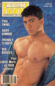 First Hand Experiences for Men (Volume 12 #8 1992 - Released August 1992) Gay Male Digest Magazine