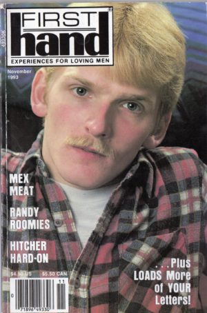 First Hand Experiences for Men (Volume 13 #11 1993 - Released November 1993) Gay Male Digest Magazine
