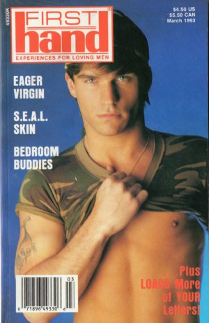 First Hand Experiences for Men (Volume 13 #3 1993 - Released March 1993) Gay Male Digest Magazine