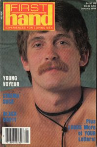 First Hand Experiences for Men (Volume 14 #1 1994 - Released January 1994) Gay Male Digest Magazine