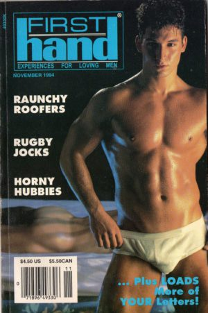 First Hand Experiences for Men (Volume 14 #11 1994 - Released November 1994) Gay Male Digest Magazine