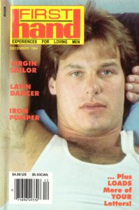 First Hand Experiences for Men (Volume 14 #12 1994 - Released December 1994) Gay Male Digest Magazine