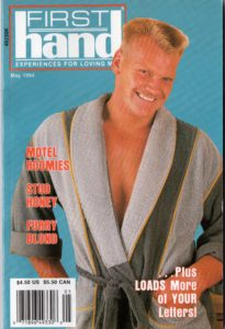 First Hand Experiences for Men (Volume 14 #5 1994 - Released May 1994) Gay Male Digest Magazine