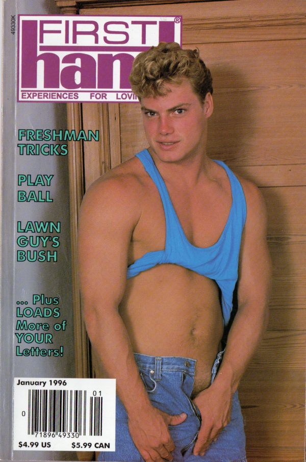 First Hand Experiences for Men (Volume 16 #1 1996 - Released January 1996) Gay Male Digest Magazine