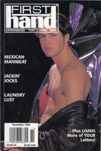 First Hand Experiences for Men (Volume 16 #12 1996 - Released November 1996) Gay Male Digest Magazine