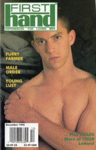 First Hand Experiences for Men (Volume 16 #13 1996 - Released December 1996) Gay Male Digest Magazine