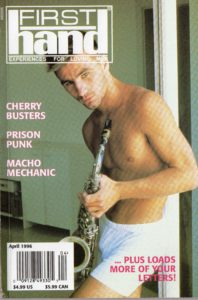 First Hand Experiences for Men (Volume 16 #5 1996 - Released April 1996) Gay Male Digest Magazine