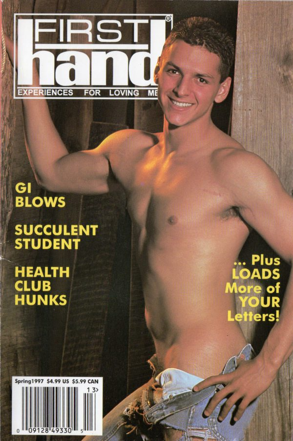 First Hand Experiences for Men (Volume 16 #5 1997 - Released Spring 1997) Gay Male Digest Magazine