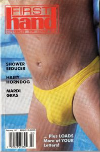 First Hand Experiences for Men (Volume 17 #2 1997 - Released February 1997) Gay Male Digest Magazine
