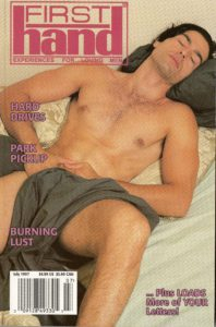 First Hand Experiences for Men (Volume 17 #8 1997 - Released July 1997) Gay Male Digest Magazine