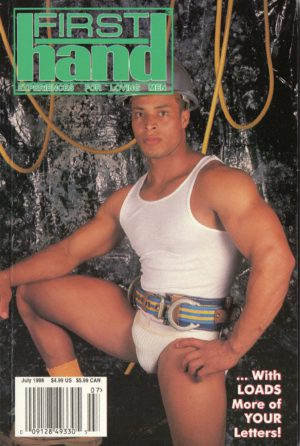 First Hand Experiences for Men (Volume 18 #9 1998 - Released July 1998) Gay Male Digest Magazine