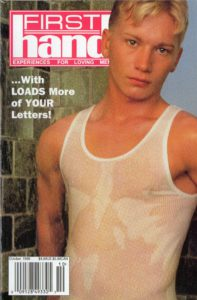 First Hand Experiences for Men (Volume 19 #12 1999 - Released October 1999) Gay Male Digest Magazine