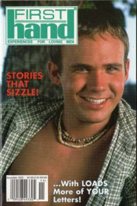 First Hand Experiences for Men (Volume 20 #11 2000 - Released November 2000) Gay Male Digest Magazine