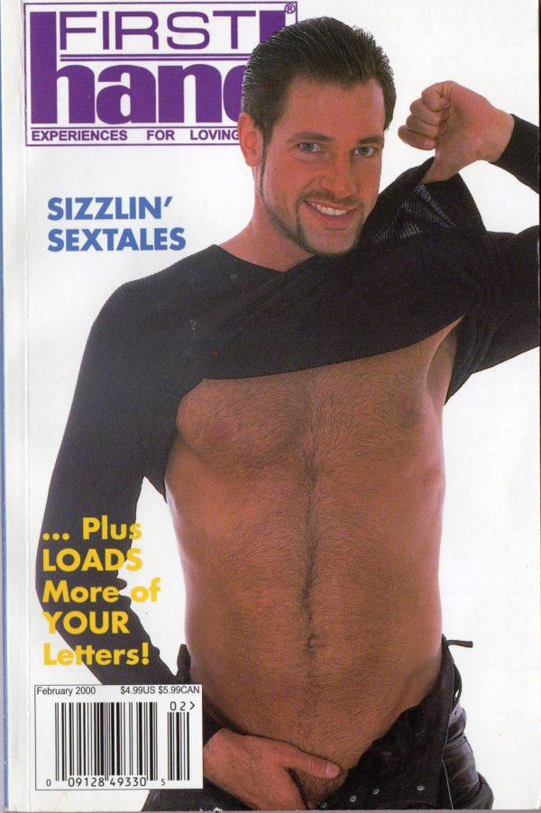 First Hand Experiences for Men (Volume 20 #3 2000 - Released February 2000) Gay Male Digest Magazine