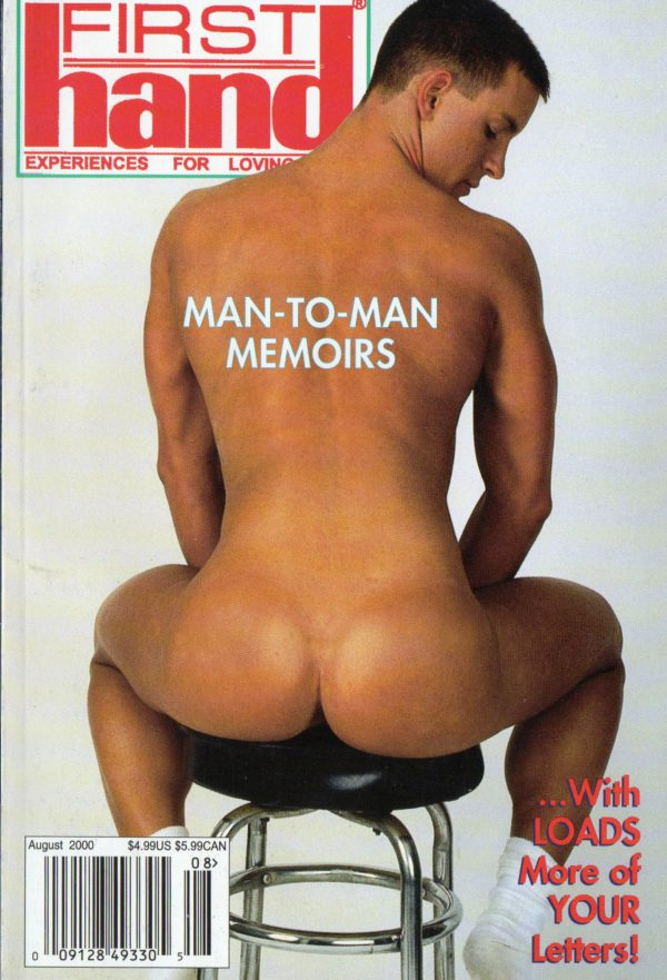 First Hand Experiences for Men (Volume 20 #8 2000 - Released August 2000) Gay Male Digest Magazine