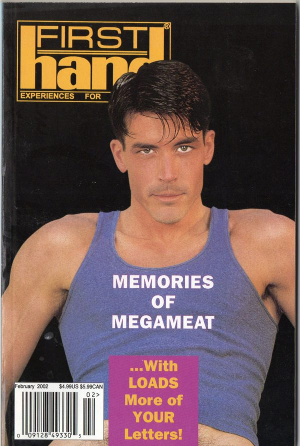 First Hand Experiences for Men (Volume 22 #1 2002 - Released February 2002) Gay Male Digest Magazine