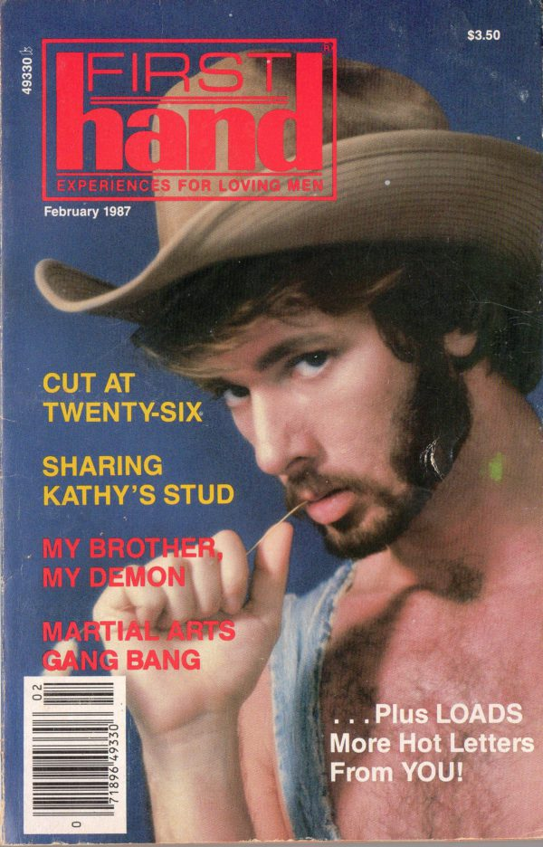 First Hand Experiences for Men (Volume 7 #2 1986 - Released February 1986) Gay Male Digest Magazine