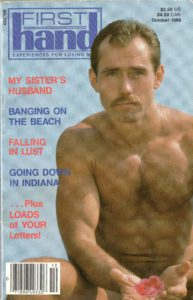 First Hand Experiences for Men (Volume 8 #10 1988 - Released October 1988) Gay Male Digest Magazine