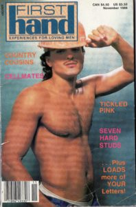 First Hand Experiences for Men (Volume 8 #11 1988 - Released November 1988) Gay Male Digest Magazine