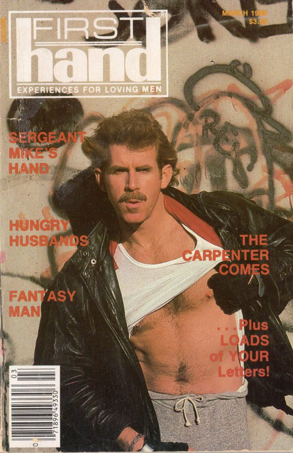 First Hand Experiences for Men (Volume 8 #3 1988 - Released March 1988) Gay Male Digest Magazine