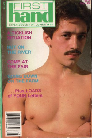First Hand Experiences for Men (Volume 8 #5 1988 - Released May 1988) Gay Male Digest Magazine