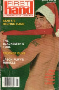 First Hand Experiences for Men (Volume 9 #1 1989 - Released January 1989) Gay Male Digest Magazine
