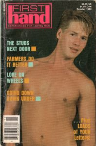 First Hand Experiences for Men (Volume 9 #10 1989 - Released October 1989) Gay Male Digest Magazine