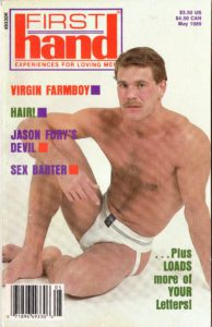 First Hand Experiences for Men (Volume 9 #5 1989 - Released May 1989) Gay Male Digest Magazine