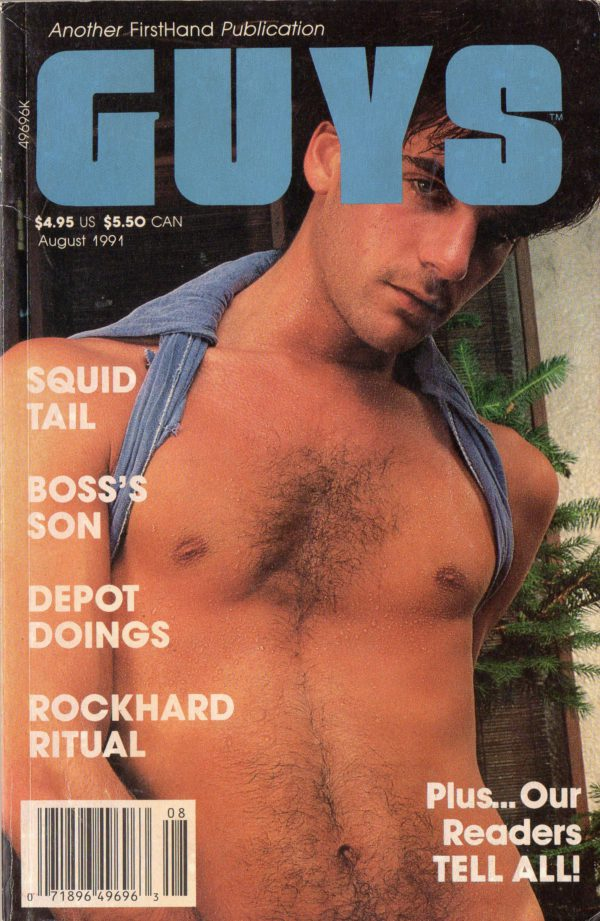 GUYS (Release August 1991) Gay Erotic Stories Paperback