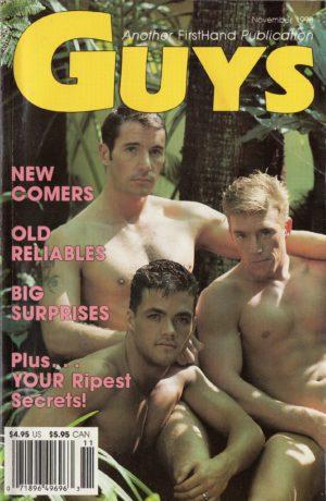 GUYS (Release November 1990) Gay Erotic Stories Paperback