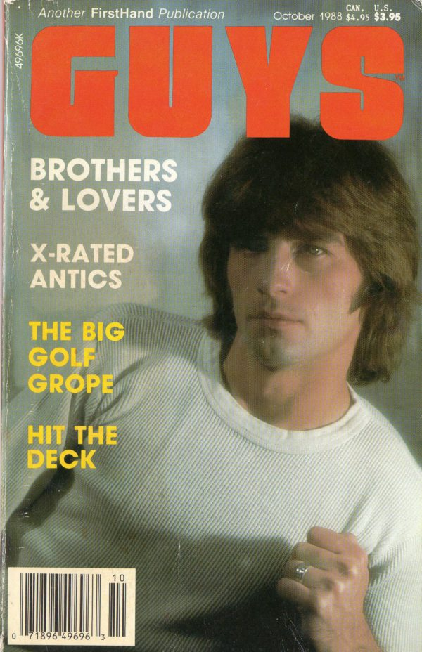 GUYS (Release October 1988) Gay Erotic Stories Paperback
