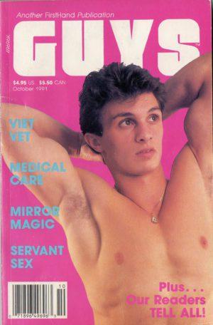 GUYS (Release October 1991) Gay Erotic Stories Paperback