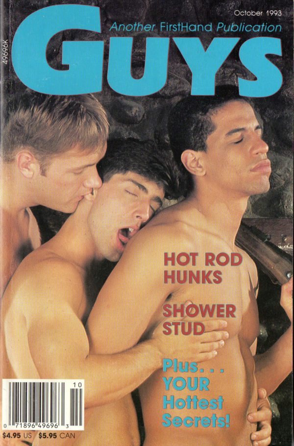 GUYS (Release October 1993) Gay Erotic Stories Paperback