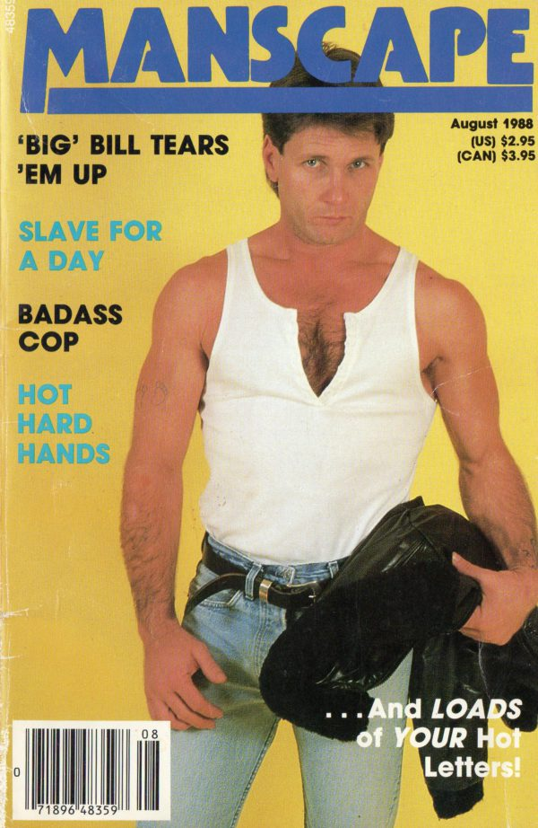 MANSCAPE (Volume 4 #6 - Released August 1988) Gay Erotic Stories Paperback