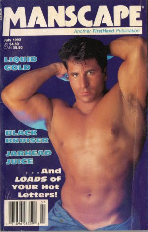 MANSCAPE (Volume 8 #5 - Released July 1992) Gay Erotic Stories Paperback