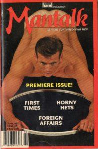 MANTALK (Volume 1 #1 - Released June 1992) Letters for Men-Loving Men