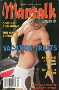 MANTALK (Volume 8 #7 - Released July 1999) Letters for Men-Loving Men