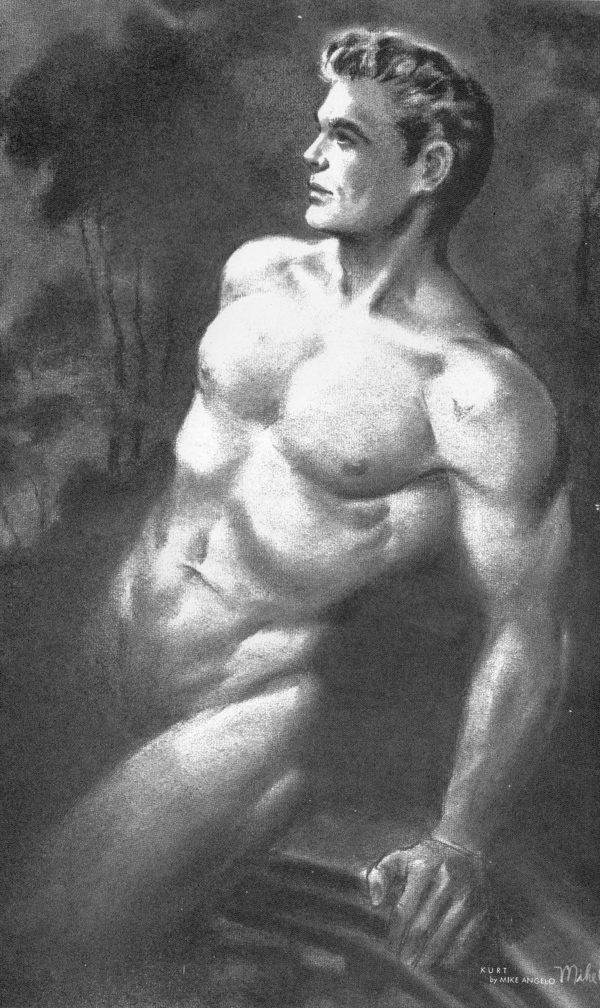 Physique Pictorial (Volume 10 #3 1961 - Released January 1961) Gay Male Nudes Physique Digest Magazine